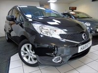 USED 2015 65 NISSAN NOTE 1.2 TEKNA DIG-S 5d AUTO 98 BHP