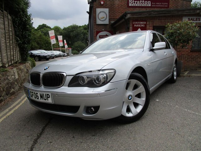 2006 06 BMW 7 SERIES 3.0 730D SE 4d AUTO 228 BHP