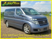 2002 NISSAN ELGRAND Highway Star 3.5 Automatic 8 Seats £6000.00