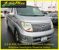 USED 2005 05 NISSAN ELGRAND Highway Star 2.5 Automatic 8 Seats 4 Wheel Drive Sunroof +2.5+ONLY 52k+4WD++THE BEST SPEC'D HIGHWAY STAR WE'VE HAD!+