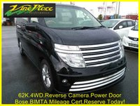 USED 2003 03 NISSAN ELGRAND Rider Autec 3.5 Automatic 8 Seats 4 Wheel Drive  Full Leather +4 WHEEL DRIVE+LEATHER+62K+BIMTA MILEAGE CERTIFICATE+