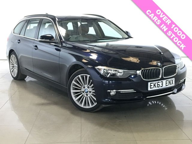 View our 2013 63 BMW 3 SERIES 2.0 320D XDRIVE LUXURY TOURING 5d AUTO 181 BHP