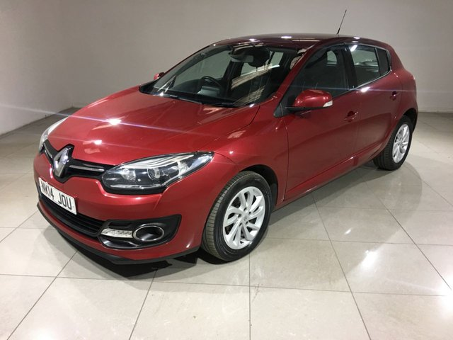 View our 2014 14 RENAULT MEGANE 1.6 DYNAMIQUE TOMTOM ENERGY DCI S/S 5d 130 BHP