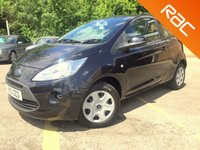 USED 2010 10 FORD KA 1.2 EDGE 3d AIR CON, SERVICE HISTORY, ONLY 1 FORMER KEEPER ONLY 1 FORMER KEEPER, SERVICE HISTORY, WITH AIR CON