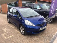 USED 2010 10 HONDA JAZZ 1.3 I-VTEC ES 5 DOOR 98 BHP IN MET BLUE LOW INSURANCE APPROVED CARS ARE PLEASED TO OFFER THIS  HONDA JAZZ 1.3 I-VTEC ES 5 DOOR 98 BHP IN MET BLUE AN IDEAL FIRST CAR WITH LOW INSURANCE IN A LOVELY BRIGHT METALLIC BLUE WITH A FULL SERVICE HISTORY SERVICED AT 10K,25K,37K,48K,59K AND 69K  AND A GREAT SPEC.