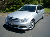 USED 2014 14 MERCEDES-BENZ C CLASS 2.1 C220 CDI EXECUTIVE SE 5d AUTO 168 BHP Demonstrator Plus One Private Meticulous Owner From New, JUST 27,000 Miles with Full Mercedes Dealership Service History!