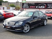 USED 2011 MERCEDES-BENZ C CLASS 2.1 C220 CDI BLUEEFFICIENCY SPORT 4d 168 BHP