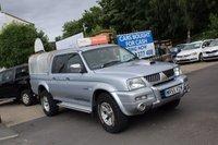 USED 2005 55 MITSUBISHI L200 2.5 TD 4WD LWB WARRIOR DCB 1d 114 BHP