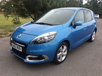 USED 2012 62 RENAULT SCENIC 1.5 DYNAMIQUE TOMTOM ENERGY DCI S/S 5d 110 BHP GREAT COLOUR ONLY 52000 MILES WITH FSH IN REALLY EXCELLENT CONDITION