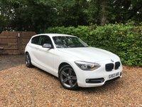 2013 BMW 1 SERIES 1.6 114I SPORT 3d 101 BHP £10989.00