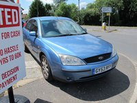 USED 2003 53 FORD MONDEO 2.0 ZETEC 16V 5d 145 BHP low miles , lovely condition