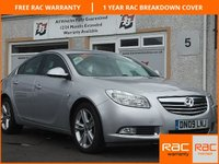 USED 2009 09 VAUXHALL INSIGNIA INSIGNIA 1.8 SRi 5d  5  Service stamps , Sport seats ,18 inch alloys
