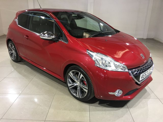 View our 2013 63 PEUGEOT 208 1.6 THP GTI 3d 200 BHP