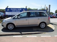 USED 2006 56 VAUXHALL ZAFIRA 1.6 CLUB 16V 5d 105 BHP 7 Seater . New Mot & Full service Done On Collection . Then 2 Years Free Mot & Service Deal . 3 Months Russell Ham Quality In House Warranty . Finance Arranged . Credit Cards Accepted . All Cars are HPI Clear , Fully Checked & Valeted .