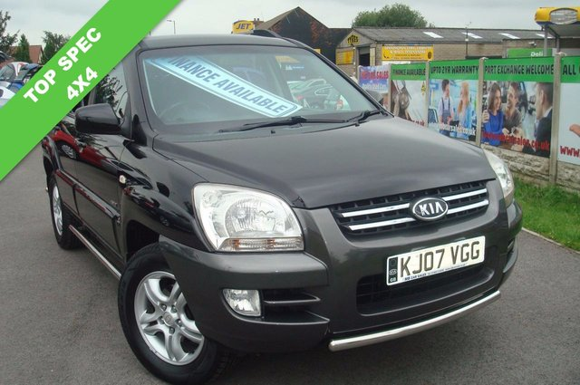 2007 07 KIA SPORTAGE 2.0 XE CRDI 5d 139 BHP 1 OWNER FROM NEW