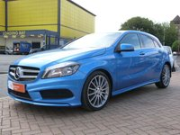 USED 2013 13 MERCEDES-BENZ A CLASS 1.5 A180 CDI BLUEEFFICIENCY AMG SPORT 5d  FULL MERC HISTORY ~ DYNAMICS PACKAGE ~ SAT NAV ~ PRIVACY GLASS ~ £3,500 OPTIONS
