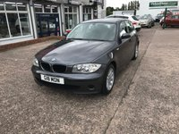 USED 2006 06 BMW 1 SERIES 2.0 118I ES 5d AUTO 128 BHP Full Service History-Automatic-Leather Interior-Air Conditioning-Parrot Bluetooth Phone Kit