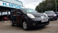 USED 2008 08 NISSAN NOTE 1.6 ACENTA R 5d 109 BHP
