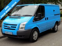 2010 FORD TRANSIT 2.4 AWD 330 SWB 4X4 140 BHP 6 SPEED £6495.00