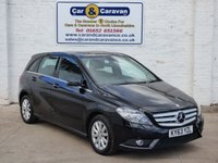 USED 2013 63 MERCEDES-BENZ B CLASS 1.8 B180 CDI BLUEEFFICIENCY SE 5d AUTO 109 BHP Top Spec + Service History  0% Deposit Finance Available
