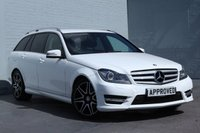 USED 2013 13 MERCEDES-BENZ C CLASS 2.1 C220 CDI BLUEEFFICIENCY AMG SPORT PLUS 5d AUTO 168 BHP HEATED SEATS + FSH + 1 OWNER