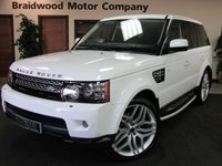 USED 2012 61 LAND ROVER RANGE ROVER SPORT 3.0 SDV6 HSE 5d AUTO 255 BHP