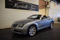 USED 2005 X CHRYSLER CROSSFIRE 3.2 V6 2d AUTO 215 BHP STUNNING CAR - LOW MILES - GREAT HISTORY - A MUST SEE