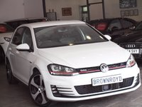 USED 2014 64 VOLKSWAGEN GOLF 2.0 GTI DSG 5d AUTO 218 BHP SAT NAV+LEATHER+DYN-AUDIO+FSH