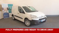 USED 2015 15 CITROEN BERLINGO 1.6HDi 90bhp 850 ENTERPRISE *Drive Away Today* 3 Seats, Air Con, Bluetooth/AUX/USB/MP3 To Reserve This Van Call 01709 866668