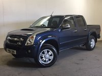 USED 2011 61 ISUZU RODEO 3.0 TD DENVER DCB 1d AUTO 161 BHP AIR CON ALLOYS FSH COMMERCIAL (£9100+£1820VAT). RARE AUTO 4WD. STUNNING BLUE MET WITH CONTRASTING GREY CLOTH TRIM. CRUISE CONTROL. AIR CON. 16 INCH ALLOYS. COLOUR CODED TRIMS. PRIVACY GLASS. PAS. EW. TOWBAR. MOT 07/18. ONE PREV OWNER. SERVICE HISTORY. FCA FINANCE APPROVED DEALER. TEL 01937 849492