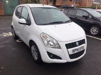 USED 2014 14 SUZUKI SPLASH 1.2 SZ4 5d 94 BHP EXCELLENT FUEL ECONOMY!!..LOW CO2 EMISSIONS(118G/KM)..£30 ROAD TAX!..FULL HISTORY..ONLY 7249 MILES FROM NEW!!..WITH AIR CONDITIONING, ALLOY WHEELS AND PRIVACY GLASS!!