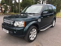 USED 2013 13 LAND ROVER DISCOVERY 3.0 4 SDV6 HSE 5d AUTO 255 BHP GREAT SPEC HSE FACELIFT MODEL 54000 FSH EVERY EXTRA