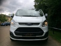 USED 2016 16 FORD TRANSIT CUSTOM 2.2 270 LIMITED LR P/V 1d 124 BHP MASSIVE SPEC, AIR CON, B-TOOTH, FRONT AND REAR PARKING SENSORS,ELECTRIC FOLDING MIRRORS, HEATED DRIVERS SEAT, CRUISE CONTROL, FACTORY FITTED BULKHEAD, PLY LINED,