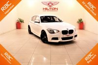 USED 2012 62 BMW 1 SERIES 2.0 120D M SPORT 5d AUTO 181 BHP + 1 PREV OWNER + SERVICE HISTORY + RAC APPROVED DEALER