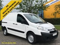 USED 2014 14 CITROEN DISPATCH 1.6 HDi 1000 L1 H1 ENTERPRISE A/C T/SLD Free UK Delivery