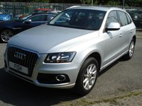 USED 2013 63 AUDI Q5 2.0 TDI QUATTRO SE 5d 175BHP SATNAV+LEATHER+CRUISE+ NAVIGATION+LEATHER+1OWNER+FSH+