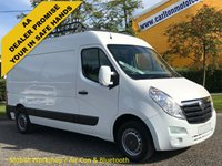 USED 2013 62 VAUXHALL MOVANO F3500 L2H2 CDTI 124 [ MOBILE WORKSHOP ] Van Ex Lease Free UK Delivery