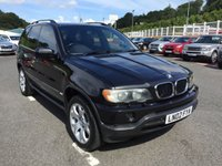 USED 2002 02 BMW X5 2.9 D SPORT 5d AUTO 181 BHP Black full leather, 19 inch alloys, heated seats, privacy glass ++ Service history 12 services