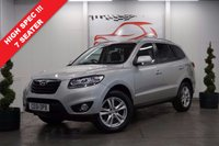 USED 2011 61 HYUNDAI SANTA FE 2.2 PREMIUM CRDI (7 SEATS) 5d 194 BHP *ONE OWNER, SERVICE HISTORY, AMAZING VALUE *