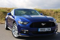 2016 FORD MUSTANG 5.0 GT 2d AUTO 410 BHP £37950.00