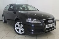 USED 2009 09 AUDI A3 1.9 TDI E SPORT 5DR 103 BHP AUDI SERVICE HISTORY + CLIMATE CONTROL + BLUETOOTH + CRUISE CONTROL + RADIO/CD + ALLOY WHEELS