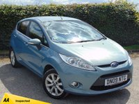 USED 2009 09 FORD FIESTA 1.4 ZETEC TDCI 5d 68 BHP FULL SERVICE HISTORY & 128 POINT AA INSPECTED