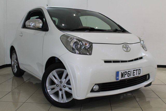 View our 2011 61 TOYOTA IQ 1.3 VVT-I IQ3 3DR 97 BHP