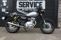 USED 2017 17 SINNIS REVIVAL 125cc QM 125-2X Cafe Racer