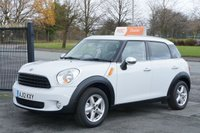 USED 2012 12 MINI COUNTRYMAN 1.6 ONE 5d 98 BHP 6 Month Free RAC Warranty upgrade to 12 for ONLY £99