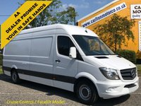 USED 2015 15 MERCEDES-BENZ SPRINTER 313 CDI Lwb High Roof Panel Van Ex Lease Free UK Delivery