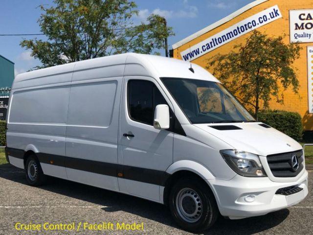 2015 15 MERCEDES-BENZ SPRINTER 313 CDI Lwb High Roof Panel Van Ex Lease Free UK Delivery
