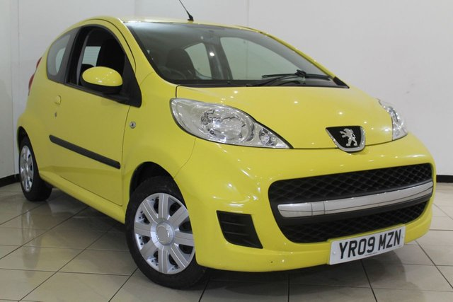 View our 2009 09 PEUGEOT 107 1.0 URBAN 3DR 68 BHP