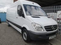 2011 MERCEDES-BENZ SPRINTER 313 CDi LWB High roof *1 OWNER*CRUISE CONTROL* £SOLD