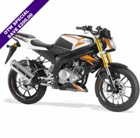 USED 2019 RIEJU RS3 125CC LC NAKED BRAND NEW! ORANGE***£200.00 SAVING***